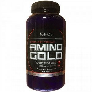 Аминокислоты ULTIMATE NUTRITION Amino Gold (1500 mg) - 325 таблеток