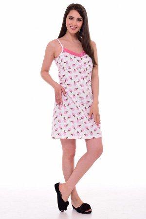 Сорочка женская 2-048в (розовый)