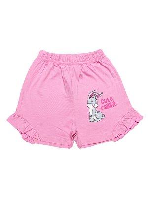 Шорты для девочки (розовый)