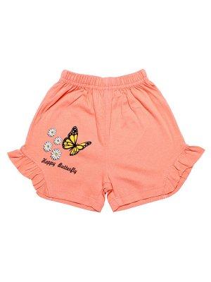 Шорты для девочки (персиковый)