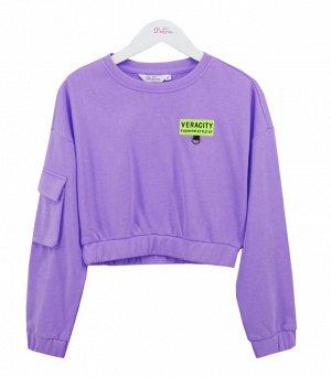 Свитшот Deloras  21062 Фиолетовый *