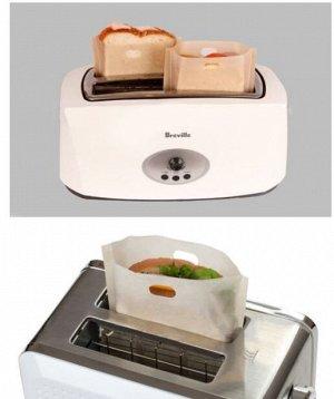 Многоразовый антипригарный пакет для тостов/1 шт