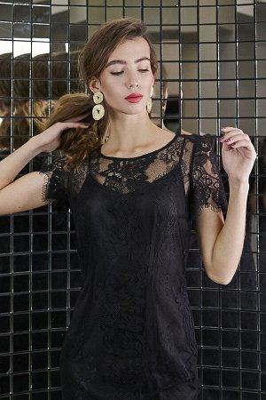 Платье Платье NOCHE MIO 1.888-2  Состав: Вискоза-20%; ПЭ-80%; Сезон: Осень-Зима Рост: 164