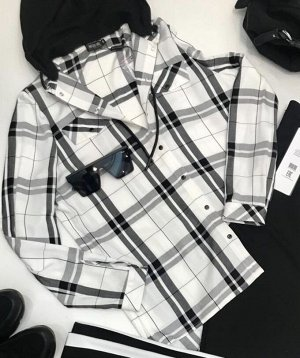 Костюм Костюм NOCHE MIO 5.016  Состав: Блуза: Вискоза-99%; Металл-1%; Брюки: Вискоза-23%; ПЭ-74%; Эластан-3%; Сезон: Весна Рост: 164  Комфортный комплект из блузки и брюк. Чёрно-белая блузка с чёрным
