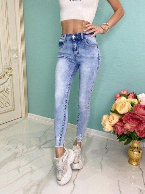 Женские джинсы слим 27 размер на 44-46
