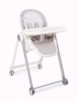Стульчик для кормления Happy Baby BERNY BASIC, цвет light grey