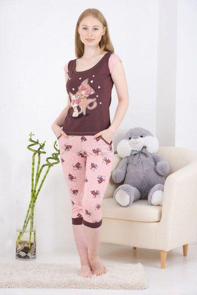 Натали.Трикотаж для всей семьи, домашний текстиль,носки. — Пижамы — Повседневные платья