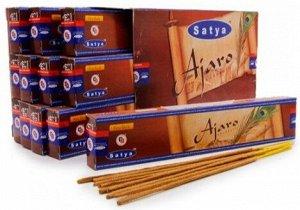 Ароматические палочки с маркировкой: SATYA Ajaro 15 г