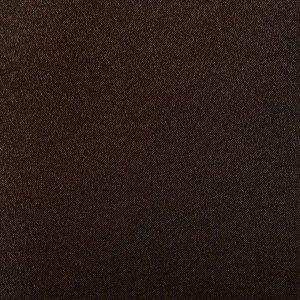 """Штора портьерная """"Этель"""" 130*280 см. Дамаск CHOCOLATE SOLID.100% п/э"""