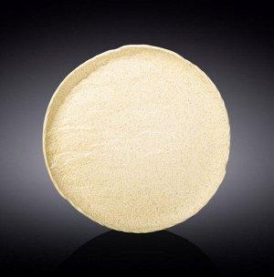 WILMAX SANDSTONE Тарелка круглая 23см, цв.песочный WL-661325/A