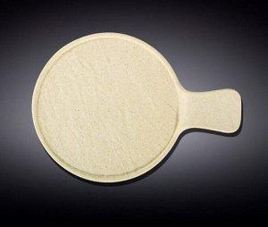 WILMAX SANDSTONE Тарелка круглая, сервировочная 30,5х21,5см, цв.песочный WL-661337/A