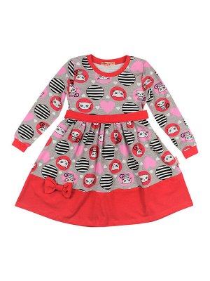 Платье для девочек фуксия