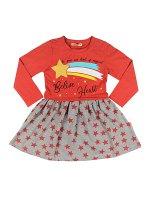 Платье для девочек персиковый