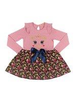 Платье для девочки розовый