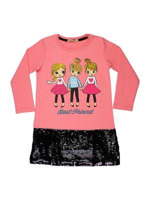 Платье для девочки (розовый)