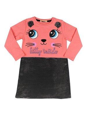 Платье для девочек розовый