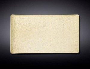 WILMAX SANDSTONE Тарелка прямоугольная 33,5х20,5см, цв.песочный WL-661310/A