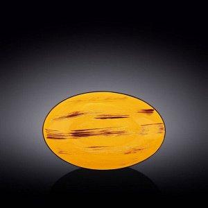 WILMAX SCRATCH Блюдо 25х16,5х6см, цв.желтый WL-668440 / A