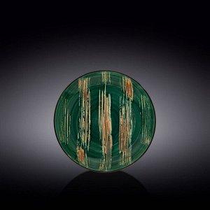 WILMAX SCRATCH Тарелка обеденная 18см, цв.зеленый WL-668511 / A