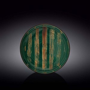 WILMAX SCRATCH Тарелка обеденная 23см, цв.зеленый WL-668519 / A