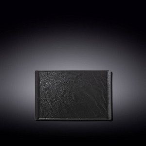 WILMAX SLATESTONE Тарелка квадратная 19,5х14,5см, цв.черный WL-661108/A
