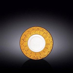 WILMAX SPLASH Тарелка десертная 16см, цв.желтый WL-667439 / A