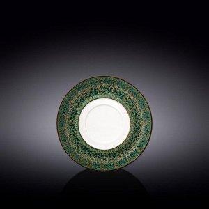 WILMAX SPLASH Тарелка десертная 16см, цв.зеленый WL-667539/A
