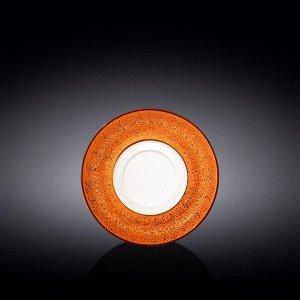 WILMAX SPLASH Тарелка десертная 16см, цв.оранжевый WL-667339 / A
