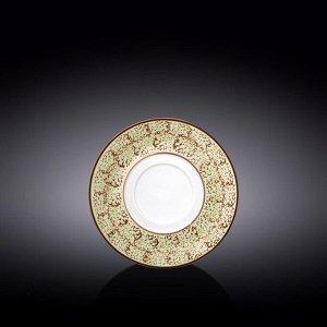 WILMAX SPLASH Тарелка десертная 16см, цв.фисташковый WL-667139 / A