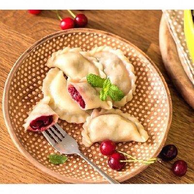 Необычные вареники - постные, с овощами, зеленью, ягодой  — Вареники и пельмешки по 800г — Готовые блюда