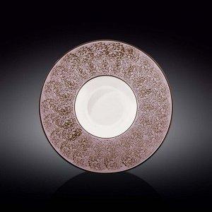WILMAX SPLASH Тарелка обеденная 27см, цв.лаванда WL-667726/A
