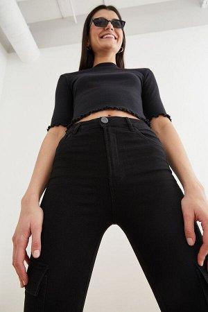 Брюки джинсовые жен. AVACADO черный