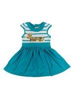 Платье для девочки BK1025P бирюзовый