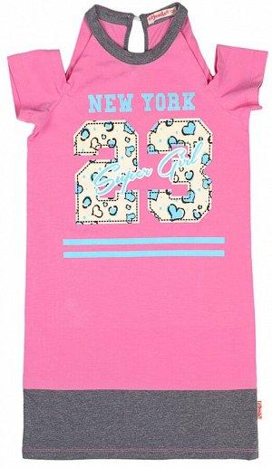 Платье для девочки BK1326P розовый