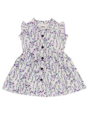 Платье для девочек фиолетовый