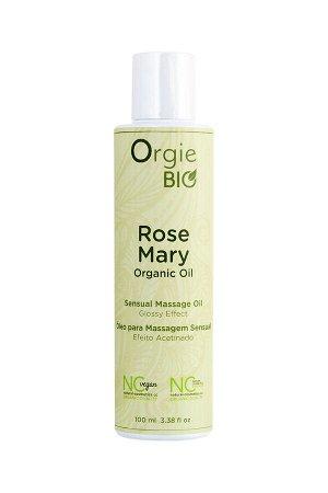 Органическое масло для массажа ORGIE Bio Rosemary с ароматом розмарина, 100 мл