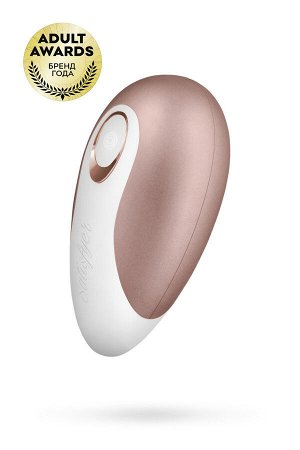 Вакуум-волновой бесконтактный стимулятор клитора Satisfyer Pro Deluxe NG, ABS пластик+силикон, розов
