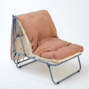 """Раскладушка-кресло """"СЕЛЛА-2"""" 196 ? 70,8 ? 40см, максимальная нагрузка 120 кг"""