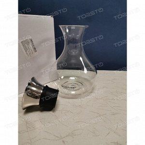 WILMAX Thermo Glass Термо кувшин со стальной крышкой 1500мл WL-888206A