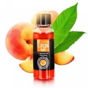 Масло массажное EROS EXOTIC (с ароматом персика) флакон 50 мл