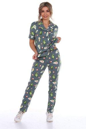 """Пижама зелёная """"Авокадо"""""""