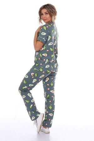 Пижама зелёная