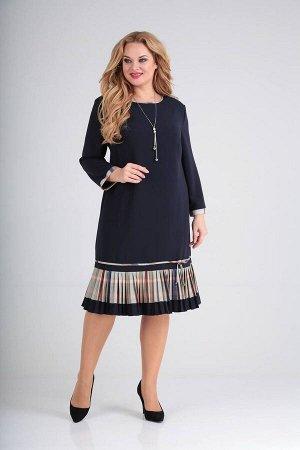 Платье Moda Versal П2233 т.синий