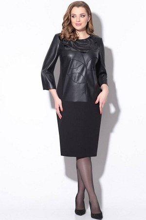 Платье LeNata 11173 черный