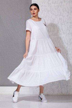 Платье Beautiful&Free 3032 белый