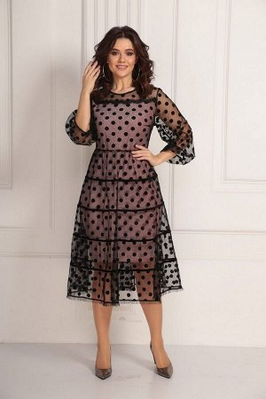 Платье Solomeya Lux 673 розовый