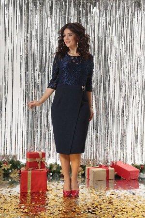 Платье Solomeya Lux 503 синий