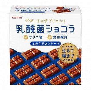 Шоколад Lactobacillus, Lotte, 48г. СРОК ГОДНОСТИ ДО 31.07.2021