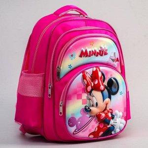 "Ранец с жестким карманом ""Minnie"", Минни Маус"