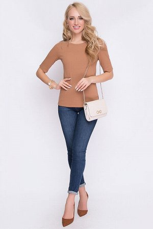 Блузка Блузка из трикотажного полотна. 50% вискоза,45% п/э,5% лайкра